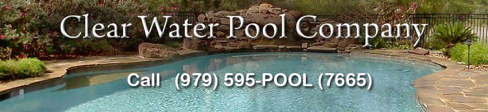 Clear Water Pool Company banner